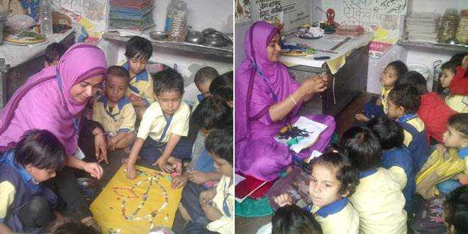 A Victim Of Poverty Herself, Ishrat Bano, An Anganwadi Worker In Jaipur Is Committed Towards Welfare Of Children In Her Area